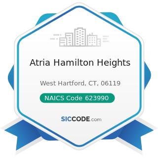 Atria Hamilton Heights - NAICS Code 623990 - Other Residential Care Facilities