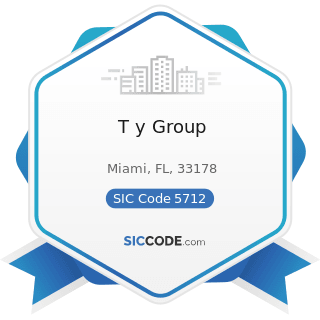 T y Group - SIC Code 5712 - Furniture Stores