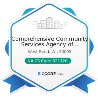Comprehensive Community Services Agency of Washington County - NAICS Code 921120 - Legislative...