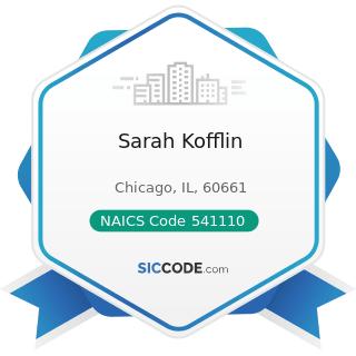 Sarah Kofflin - NAICS Code 541110 - Offices of Lawyers