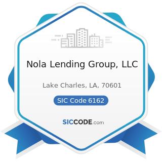 Nola Lending Group, LLC - SIC Code 6162 - Mortgage Bankers and Loan Correspondents