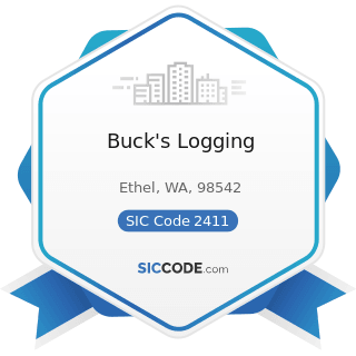 Buck's Logging - SIC Code 2411 - Logging