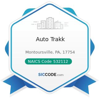 Auto Trakk - NAICS Code 532112 - Passenger Car Leasing