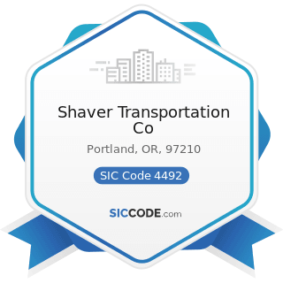 Shaver Transportation Co - SIC Code 4492 - Towing and Tugboat Services