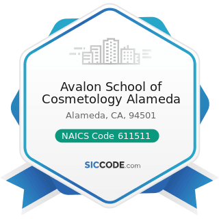 Avalon School of Cosmetology Alameda - NAICS Code 611511 - Cosmetology and Barber Schools