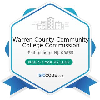 Warren County Community College Commission - NAICS Code 921120 - Legislative Bodies