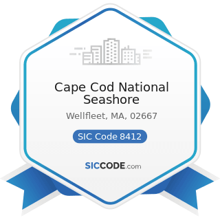 Cape Cod National Seashore - SIC Code 8412 - Museums and Art Galleries