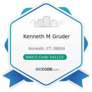 Kenneth M Gruder - NAICS Code 541110 - Offices of Lawyers