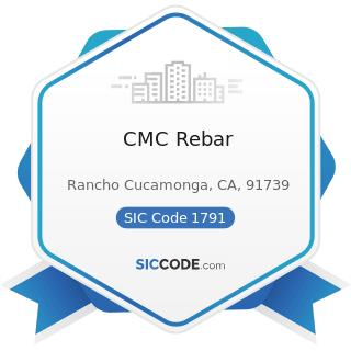 CMC Rebar - SIC Code 1791 - Structural Steel Erection