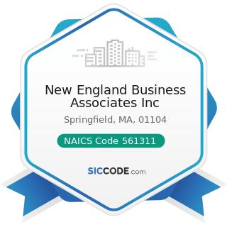 New England Business Associates Inc - NAICS Code 561311 - Employment Placement Agencies