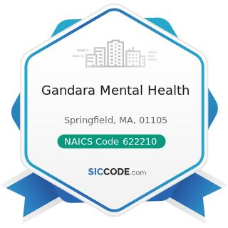 Gandara Mental Health - NAICS Code 622210 - Psychiatric and Substance Abuse Hospitals