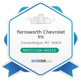 Farnsworth Chevrolet Inc - NAICS Code 441110 - New Car Dealers
