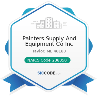 Painters Supply And Equipment Co Inc - NAICS Code 238350 - Finish Carpentry Contractors