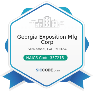 Georgia Exposition Mfg Corp - NAICS Code 337215 - Showcase, Partition, Shelving, and Locker...