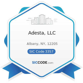 Adesta, LLC - SIC Code 3357 - Drawing and Insulating of Nonferrous Wire