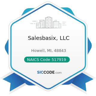 Salesbasix, LLC - NAICS Code 517919 - All Other Telecommunications
