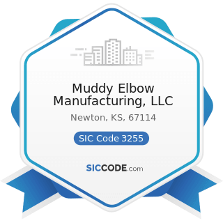 Muddy Elbow Manufacturing, LLC - SIC Code 3255 - Clay Refractories