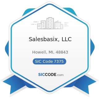 Salesbasix, LLC - SIC Code 7375 - Information Retrieval Services