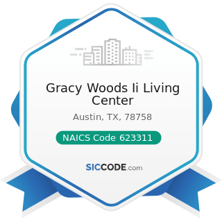 Gracy Woods Ii Living Center - NAICS Code 623311 - Continuing Care Retirement Communities