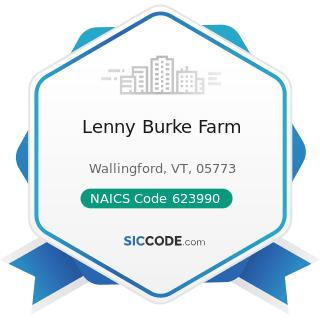 Lenny Burke Farm - NAICS Code 623990 - Other Residential Care Facilities
