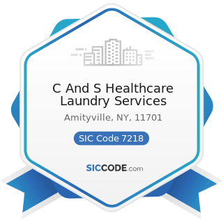 C And S Healthcare Laundry Services - SIC Code 7218 - Industrial Launderers