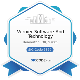 Vernier Software And Technology - SIC Code 7372 - Prepackaged Software