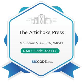 The Artichoke Press - NAICS Code 323117 - Books Printing