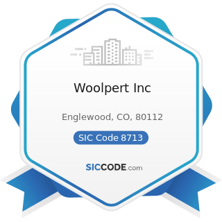 Woolpert Inc - SIC Code 8713 - Surveying Services