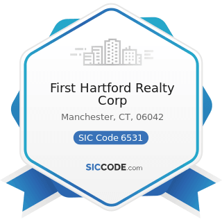 First Hartford Realty Corp - SIC Code 6531 - Real Estate Agents and Managers