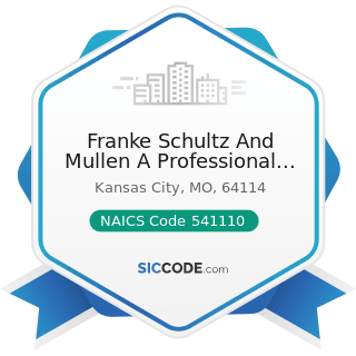 Franke Schultz And Mullen A Professional Corp - NAICS Code 541110 - Offices of Lawyers