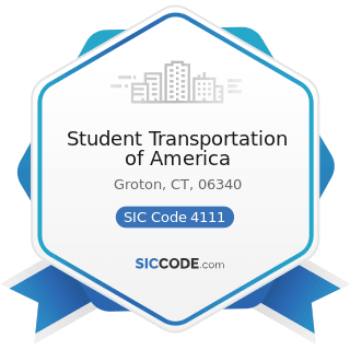 Student Transportation of America - SIC Code 4111 - Local and Suburban Transit