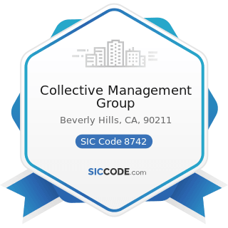 Collective Management Group - SIC Code 8742 - Management Consulting Services