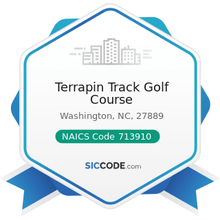 Terrapin Track Golf Course - NAICS Code 713910 - Golf Courses and Country Clubs
