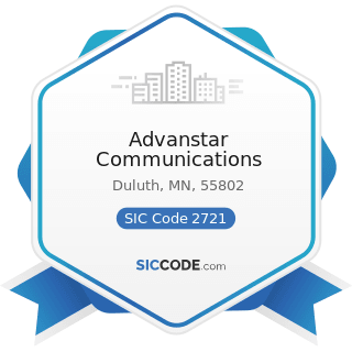 Advanstar Communications - SIC Code 2721 - Periodicals: Publishing, or Publishing and Printing