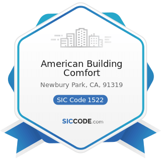 American Building Comfort - SIC Code 1522 - General Contractors-Residential Buildings, other...