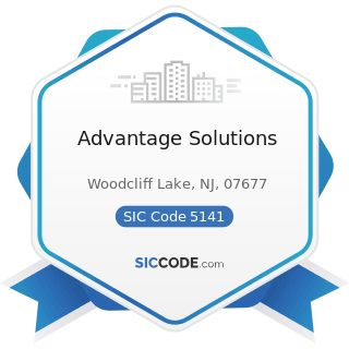 Advantage Solutions - SIC Code 5141 - Groceries, General Line