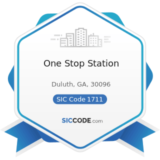 One Stop Station - SIC Code 1711 - Plumbing, Heating and Air-Conditioning