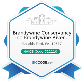 Brandywine Conservancy Inc Brandywine River Museum Library - NAICS Code 712110 - Museums