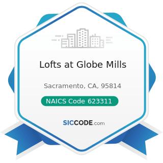 Lofts at Globe Mills - NAICS Code 623311 - Continuing Care Retirement Communities
