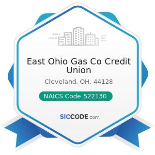 East Ohio Gas Co Credit Union - NAICS Code 522130 - Credit Unions