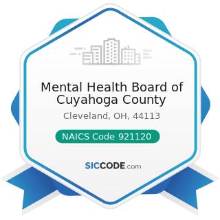 Mental Health Board of Cuyahoga County - NAICS Code 921120 - Legislative Bodies