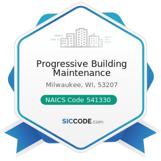 Progressive Building Maintenance - NAICS Code 541330 - Engineering Services