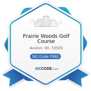 Prairie Woods Golf Course - SIC Code 7992 - Public Golf Courses
