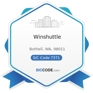 Winshuttle - SIC Code 7371 - Computer Programming Services