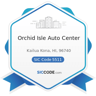 Orchid Isle Auto Center - SIC Code 5511 - Motor Vehicle Dealers (New and Used)