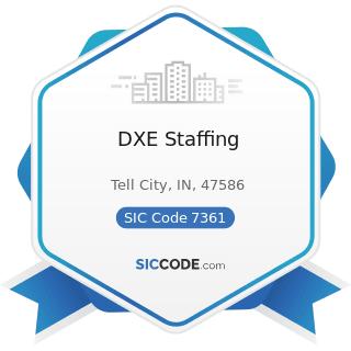 DXE Staffing - SIC Code 7361 - Employment Agencies