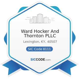 Ward Hocker And Thornton PLLC - SIC Code 8111 - Legal Services