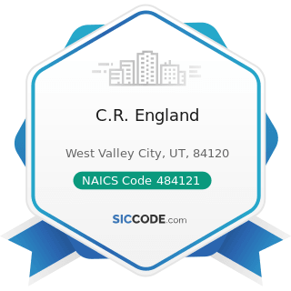 C.R. England - NAICS Code 484121 - General Freight Trucking, Long-Distance, Truckload