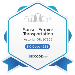 Sunset Empire Transportation - SIC Code 4111 - Local and Suburban Transit