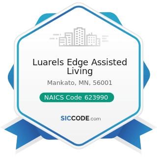Luarels Edge Assisted Living - NAICS Code 623990 - Other Residential Care Facilities